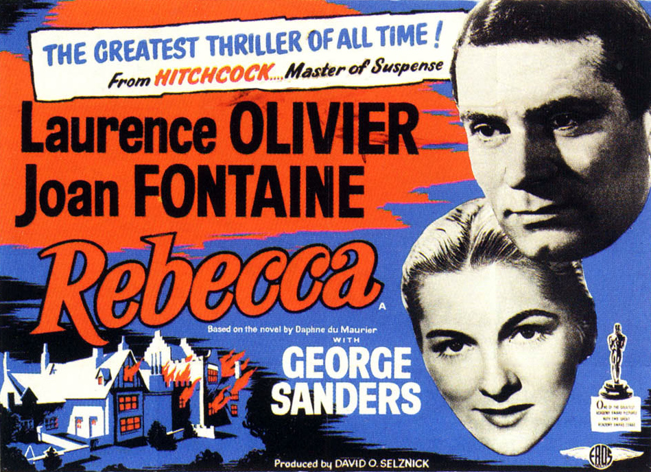 Bette's Classic Movie Blog: Rebecca (1940) Dir. Alfred Hitchcock